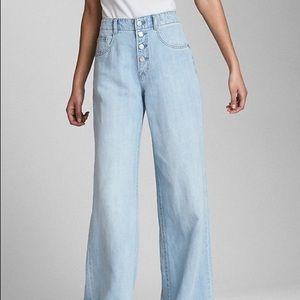 Gap Wearlight Wide Leg Jeans